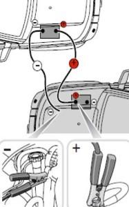 Зарядка аккумулятора от другого аккумулятора